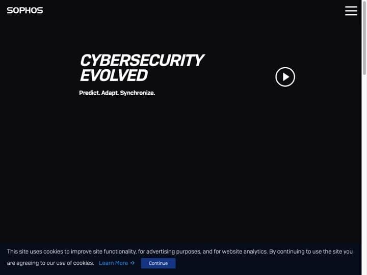 Meilleur logiciel de sécurité pour la virtualisation : Sophos