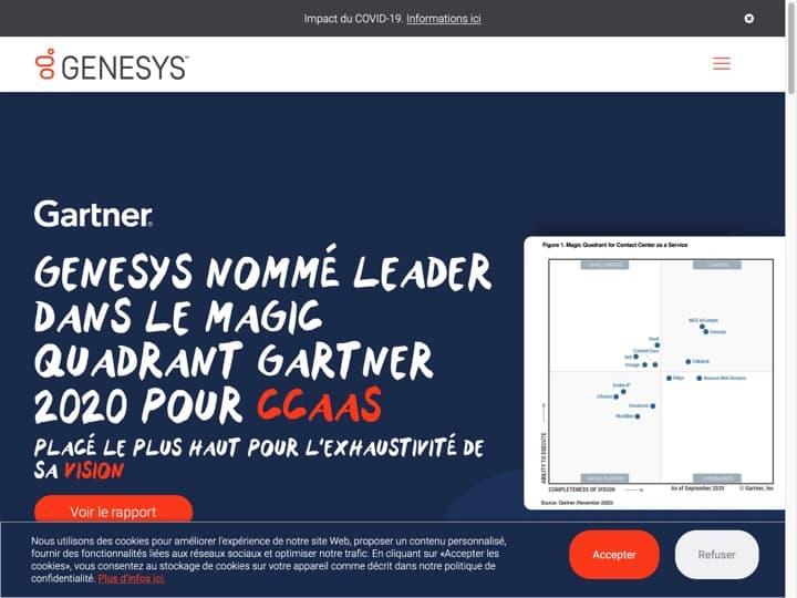 Meilleur logiciel de serveur vocal interactif (SVI - IVR) : Genesys, Nuance