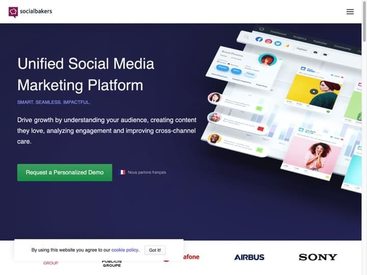 Meilleur logiciel de social analytics - statistiques des réseaux sociaux : Socialbakers, Talkwalker