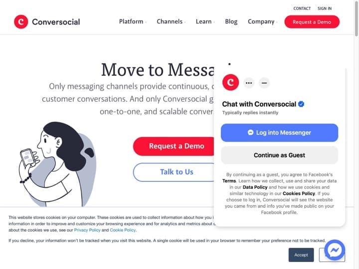 Meilleur logiciel de support clients sur mobile : Conversocial, Bold360