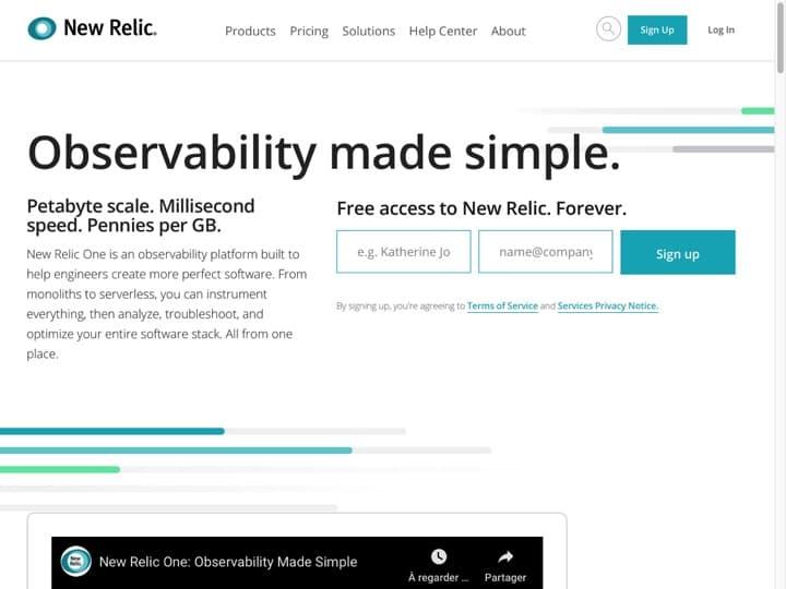 Meilleur logiciel de surveillance de la performance des applications : Newrelic, Appdynamics