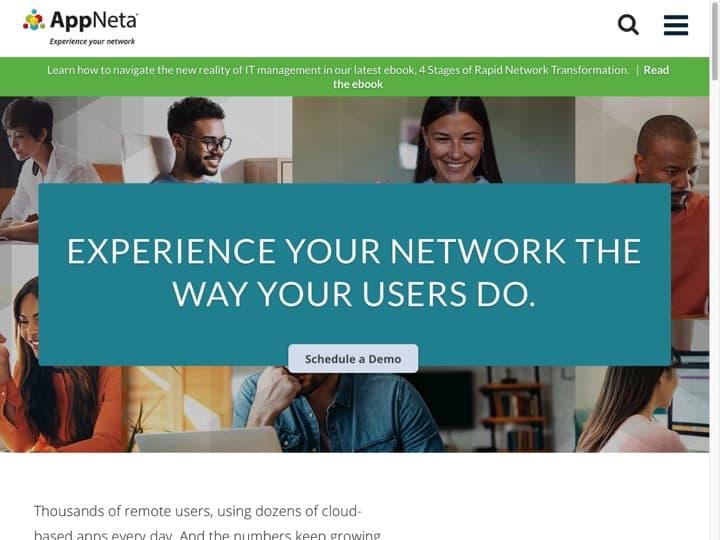 Meilleur logiciel de surveillance de la performance du réseau informatique : Appneta, Symphony
