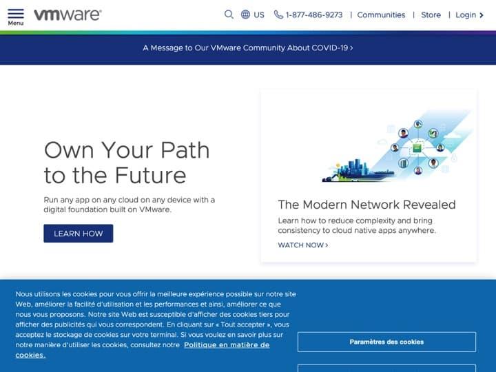 Meilleur logiciel de virtualisation utilisateur : Vmware, Citrix