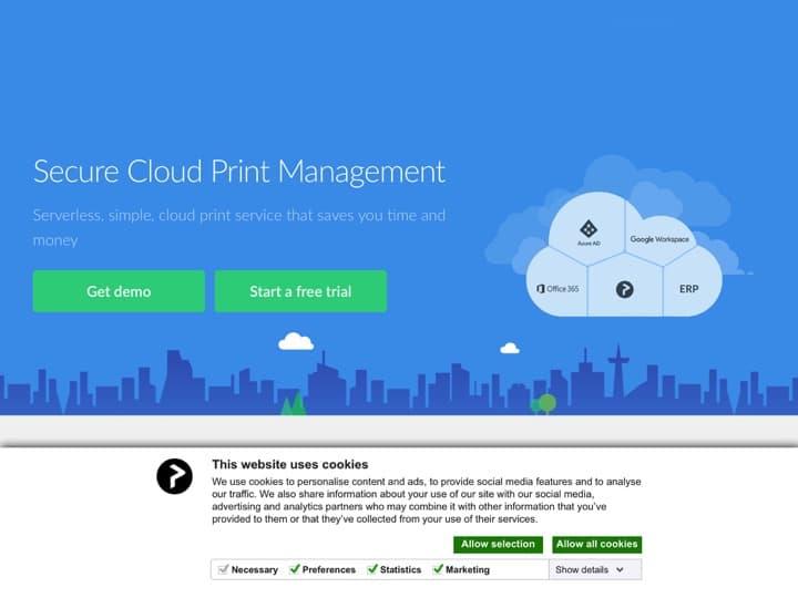 Meilleur logiciel d'impression cloud : Printix, Agencewepa