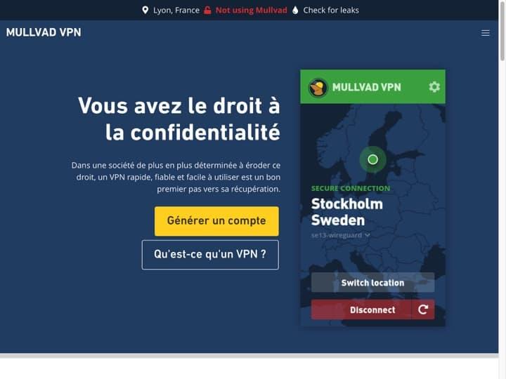 Meilleur logiciel Finance : Mullvad, Localmonero