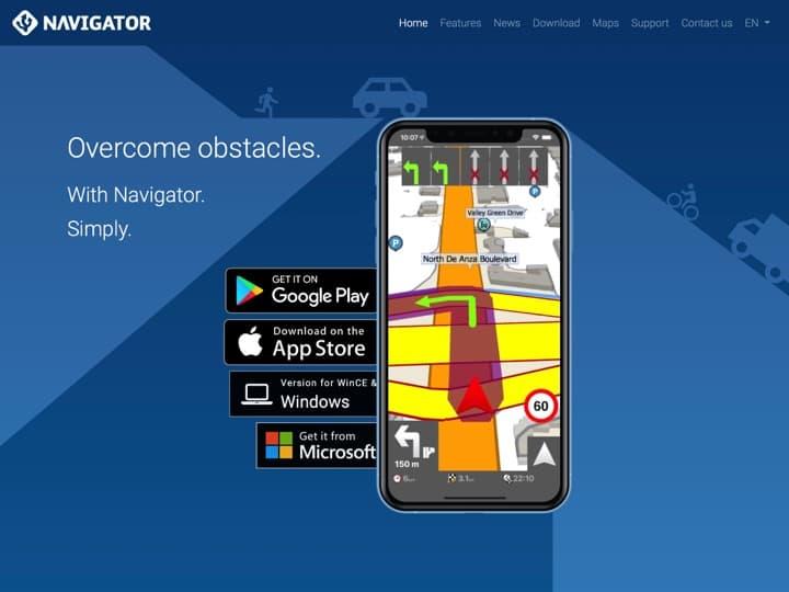 Meilleur logiciel Gestion des Opérations : Navigatorfree Mapfactor, Transformap