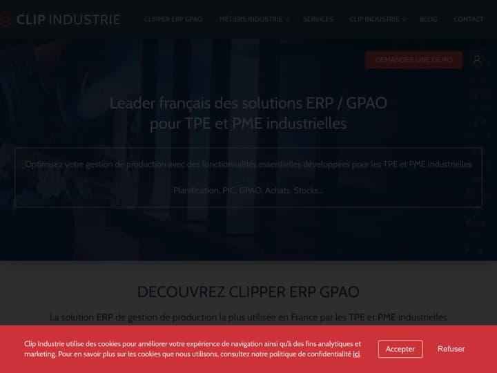 Meilleur logiciel GPAO : Clipindustrie, Cisa Informatique
