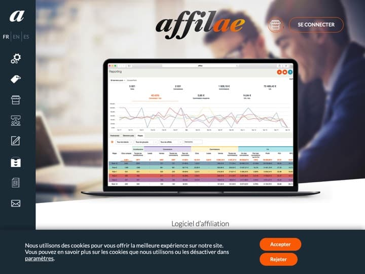 Meilleur logiciel Marketing - Webmarketing : Affilae, Effinity Martech