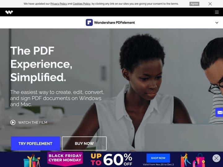 Meilleur logiciel pour modifier un PDF - éditer un PDF - lire un PDF : Pdf Wondershare, Foxitsoftware