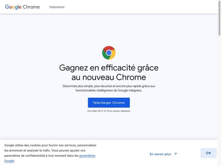 Meilleur navigateur Internet : Google, Google Chrome