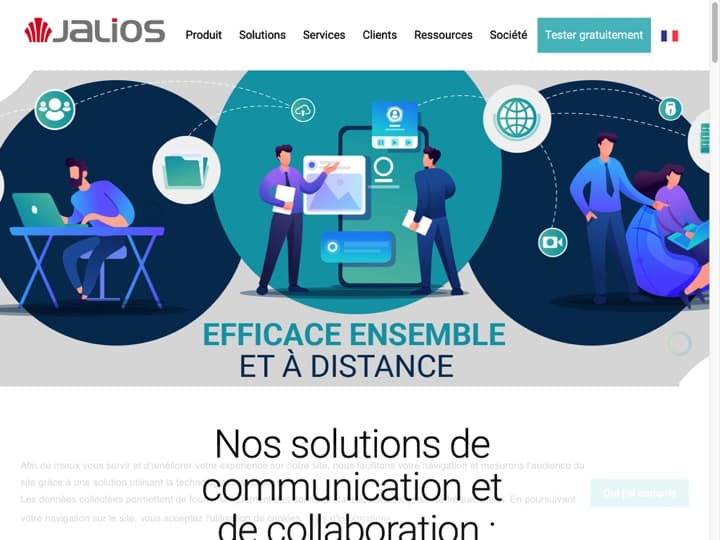 Meilleur Réseau Social d'Entreprise (RSE) : Jalios, Whaller
