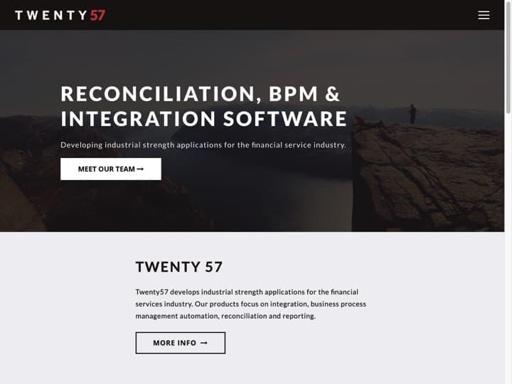 Meilleur service de développement de logiciel : Twenty57, Coder