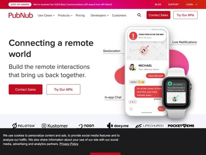 Meilleur service IT - Big Data - Données : Pubnub, Socket
