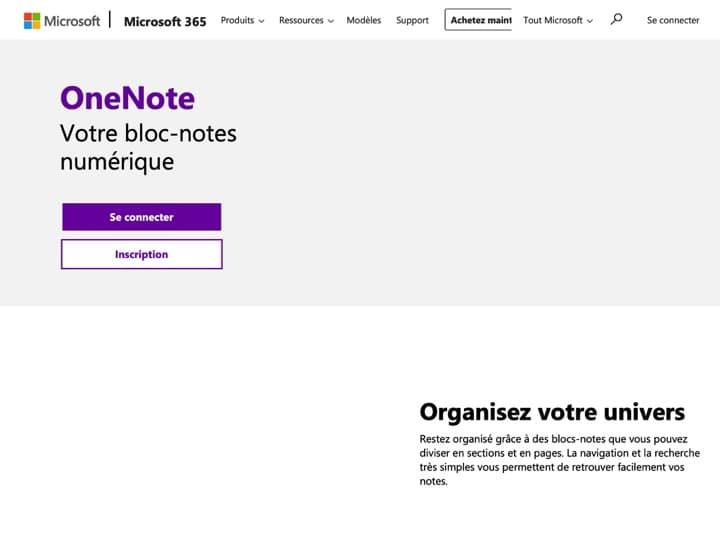 Meilleur stockage de données : Onenote, Onedrive