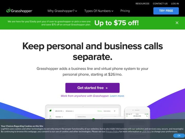 Meilleur téléphonie cloud : Grasshopper, Ringover