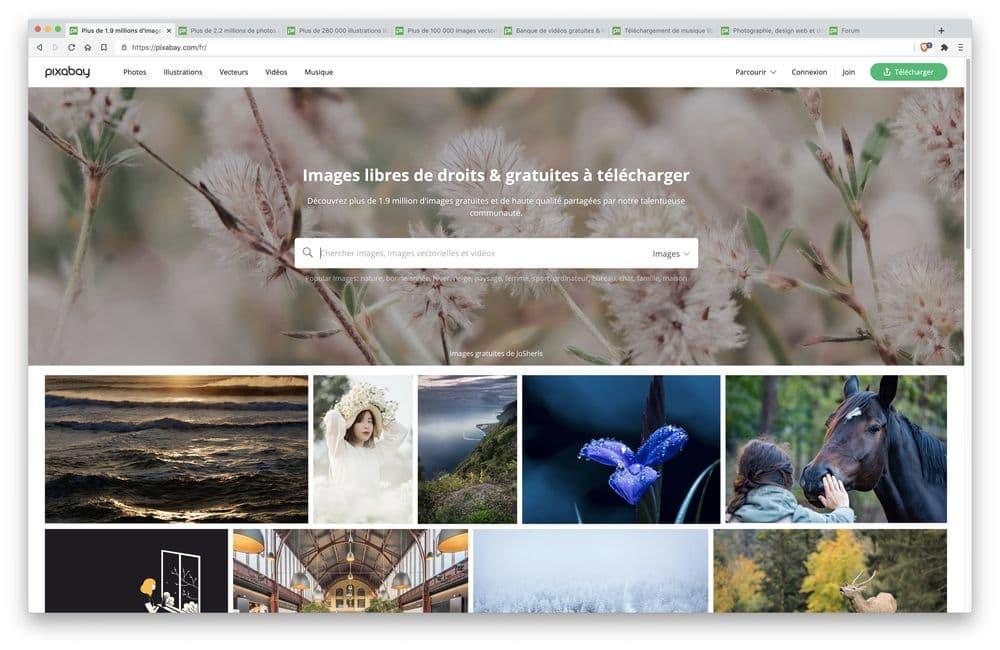 Pixabay : Banque d'Images gratuites