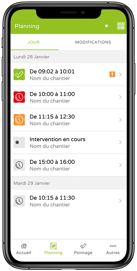 FR iPhone CA Planning