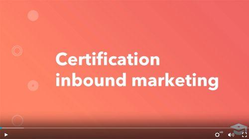 Certification gratuite Inbound Marketing