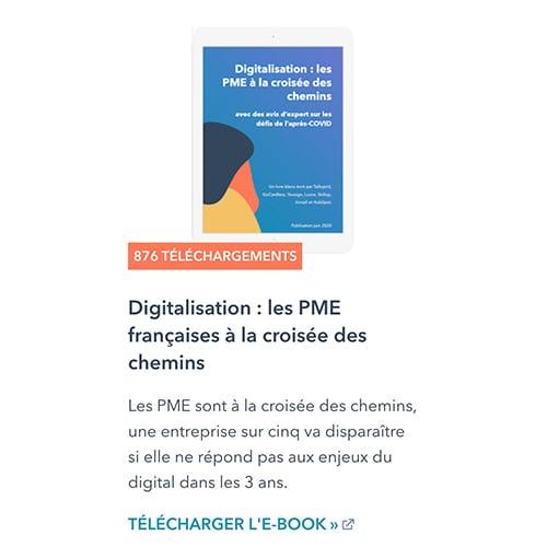 Digitalisation : les PME françaises à la croisée des chemins